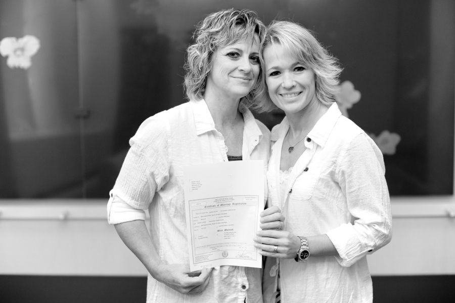 same sex wedding officiants in new york city in Nambour